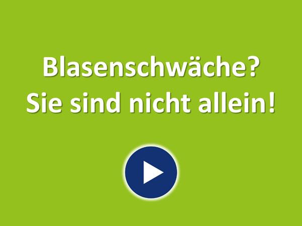 """Zum Video """"Mit Blasenschwäche sind Sie nicht allein"""""""